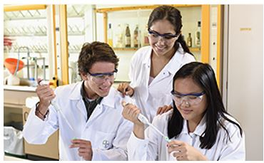 three-researchers