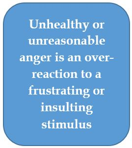 Unhealthy-anger