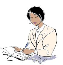 Woman-writing-therapy