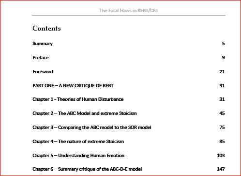 Top of Contents page for PR2