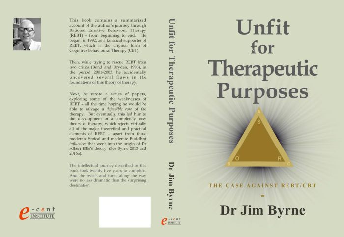 Unfit for Therapeutic Purposes, REBT