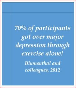 Blumenthal exercise depression