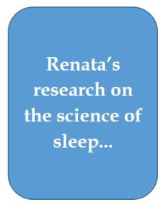 Nata's sleep research