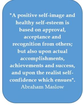 Self confidence, Abraham Maslow