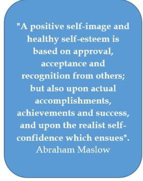 Self confidence, Abraham Maslow