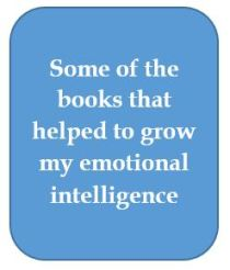 Books on emotional intelligence.JPG