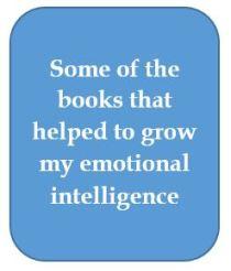 Books on emotional intelligence.JPG