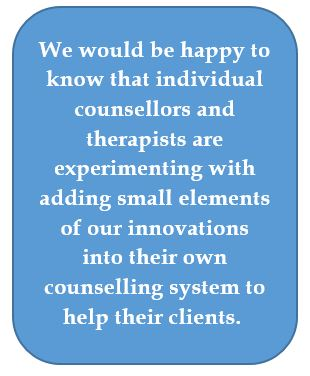 Adding lifestyle counselling to any system