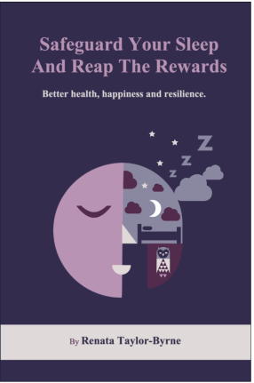 Front cover, sleep book, Feb 2019