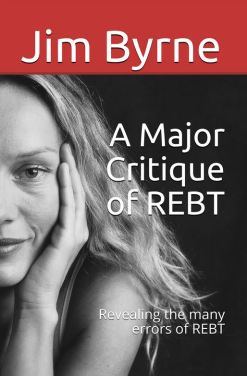 Front cover of reissued REBT book
