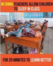 Class-sleeping