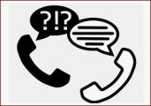 Telephone counselling image for median service