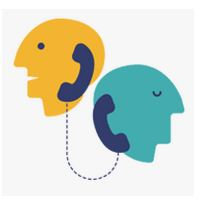 Telephone counselling image for mini-service