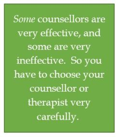 Counsellor effectiveness, not all equal