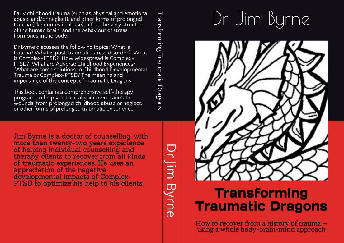Whole cover 2, Dragons Trauma book June 2020