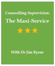 Counselling supervision, maxi service, dr jim byrne