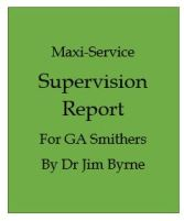 Counselliong Supervision Report, maxi service