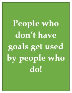 People and goals