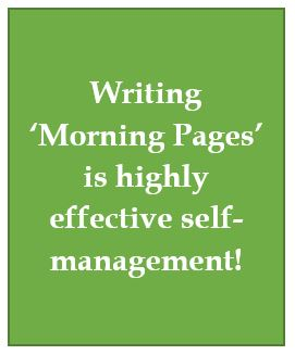 Writing as self-management
