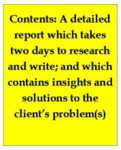 File note report, description