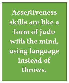 Assertiveness skills callout