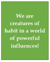 1, Habits and social influence