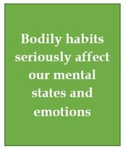 4, Bodily habits and mental states